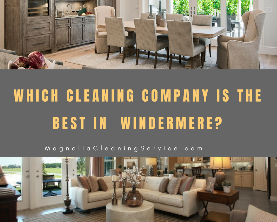 Best Cleaning Company in Windermere?