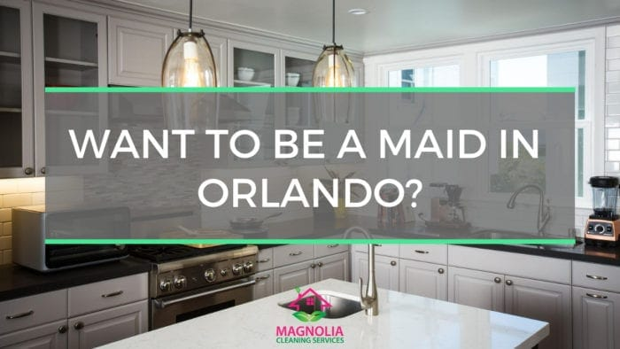 Looking for a Maid Service Job in Orlando?