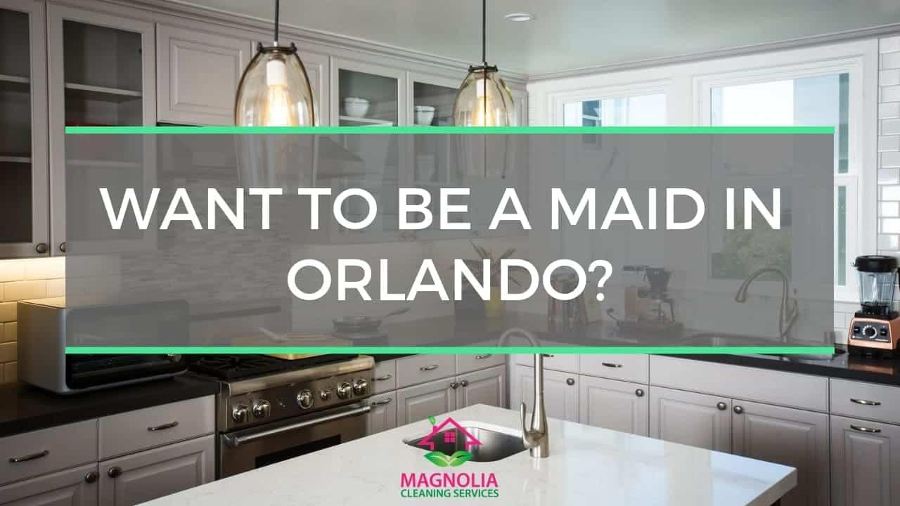 Maid Service Jobs Orlando