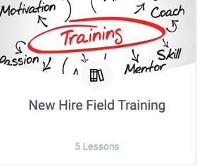 New Hire Field Training