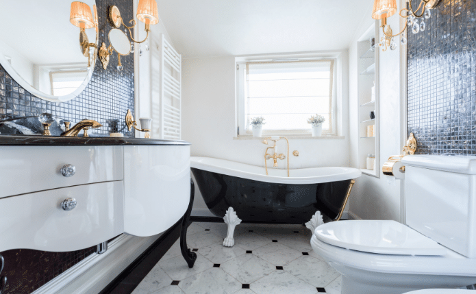 Palm Harbor House Cleaning Service Bathroom